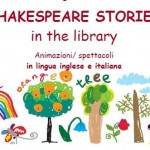 Sabato 13 Shakespeare stories a Guarene