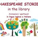 Sabato 13 Shakespeare stories a Guarene