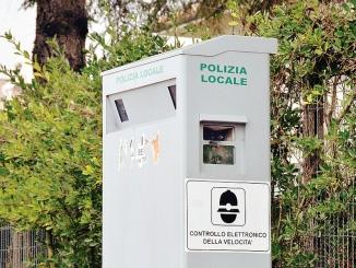 Autovelox a Cherasco: colonnina anche in corso Einaudi