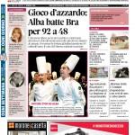 La copertina di Gazzetta d'Alba del 2 febbraio 2016