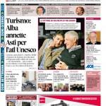 La copertina di Gazzetta d'Alba del 16 febbraio 2016