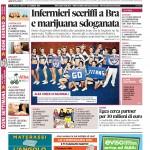 La copertina di Gazzetta d'Alba del 23 febbraio 2016