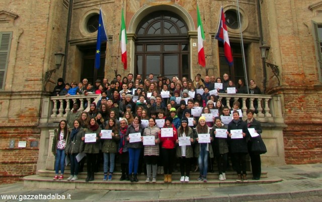 studenti Colletta alimentare