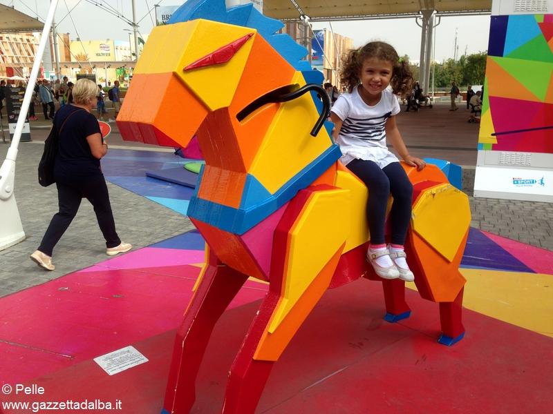 Con Ferrero a Expo _davanti al padiglione Kinder
