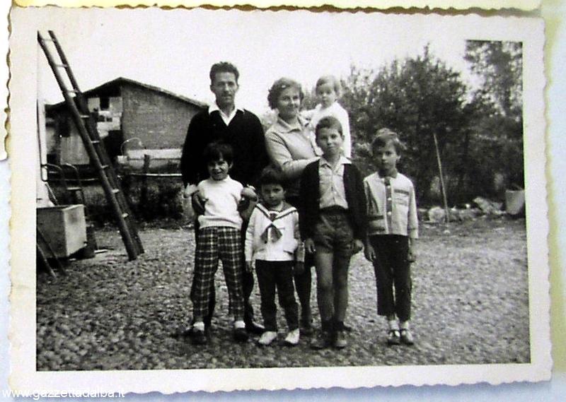Paolo Pasquero 1966 famiglia Pasquero
