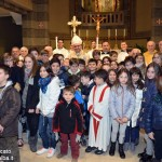 La Moretta accoglie il Vescovo con la questua delle uova