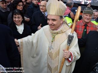 Il Vescovo Marco Brunetti insediamento