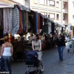 Fiera: bancarelle degli ambulanti distribuite nella città