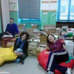 I cittadini di Santa Vittoria donano 2.000 libri alla biblioteca
