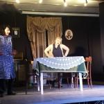 Ël colp, gli attori della Famija albèisa in scena al Sociale