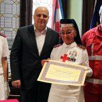 Anna Gallani, 35 anni in Croce rossa