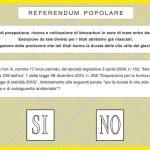 Referendum: si vota domenica 17 dalle 7 alle 23