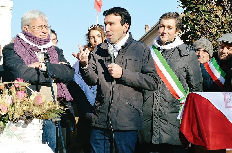 Luciano Bertello e ministro Maurizio Martina