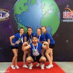 Cinque albesi negli Usa per i mondiali di cheerleading
