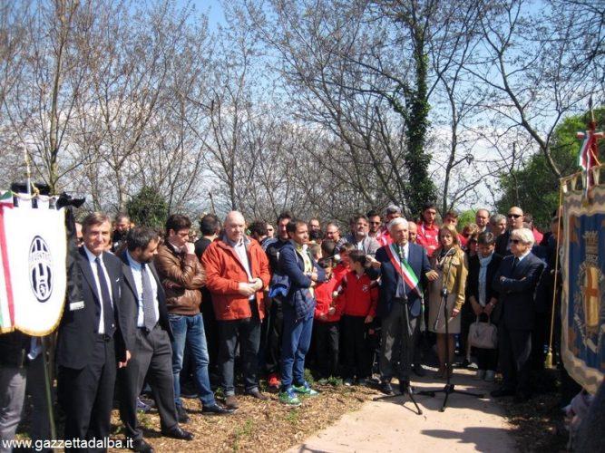 Inaugurato il monumento alle vittime dello stadio Heysel 6
