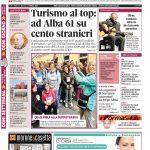 La copertina di Gazzetta d'Alba del 5 aprile 2016