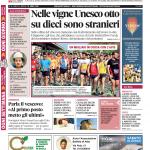 La copertina di Gazzetta d'Alba del 19 aprile 2016