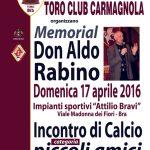 Il Toro club Bra organizza un torneo per ricordare don Aldo Rabino