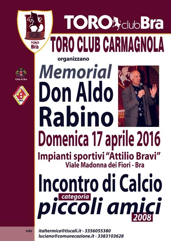 locandina torneo toro club