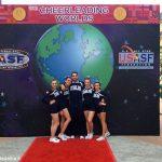Sesto e quattordicesimo posto mondiale per le nazionali di cheerleading