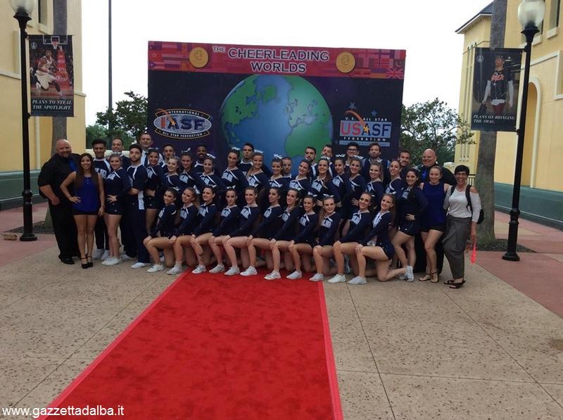 mondiali Orlando nazionale cheerleading