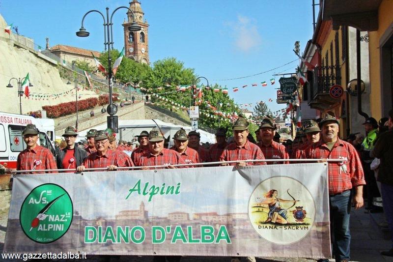 Alpini in Langa radunati a Diano 12