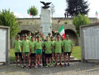 Alpini in Langa radunati a Diano