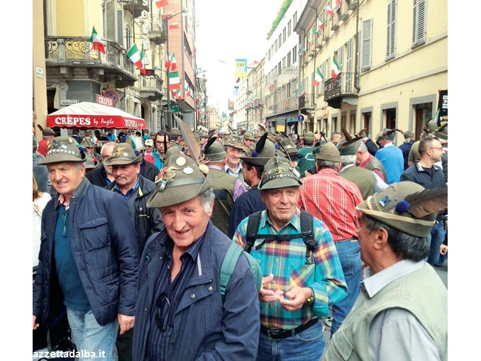 Giorni indimenticabili  ad Asti grazie alle penne nere