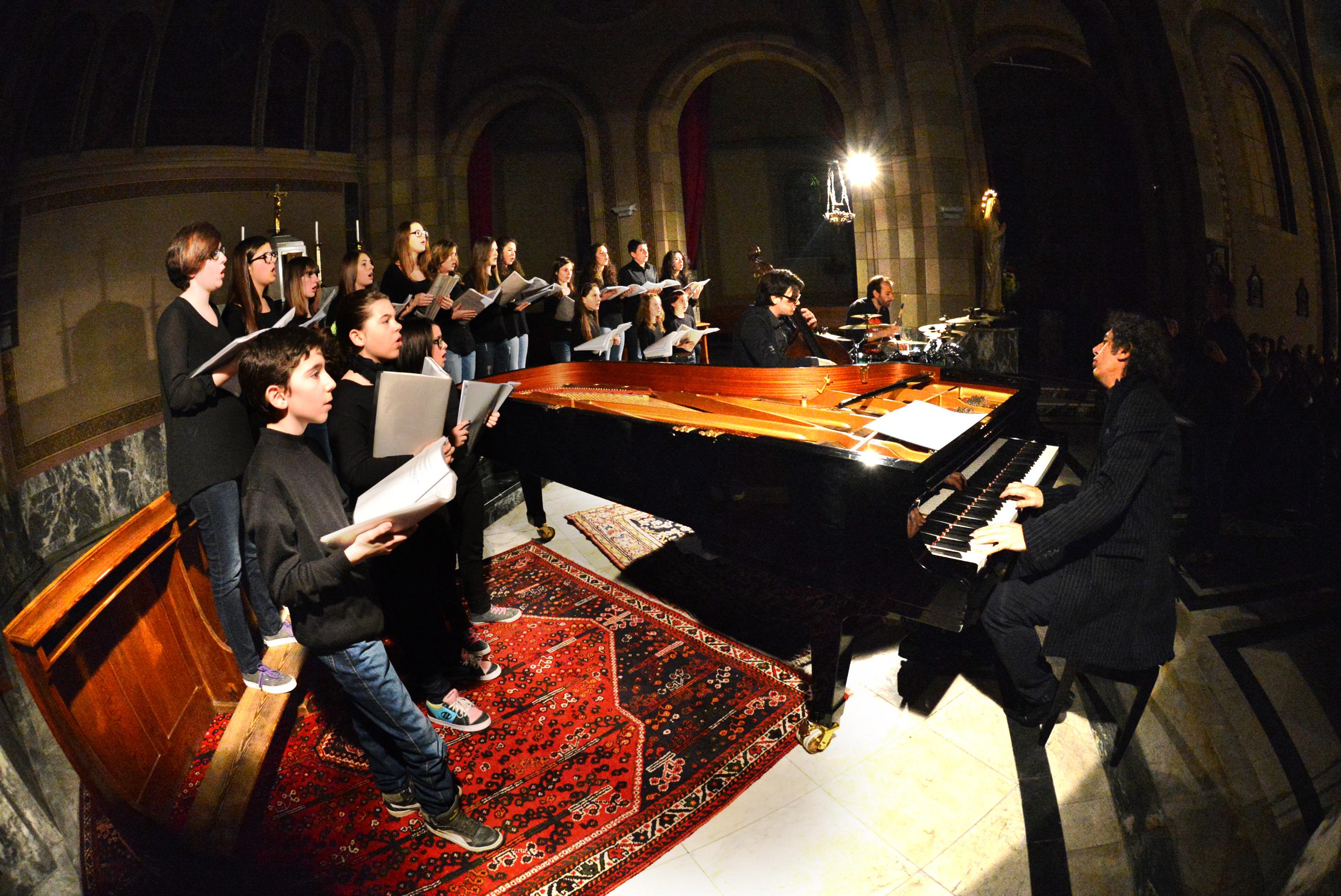 Anticontemporaneo, il coro Intonandoli in concerto a Mussotto 1