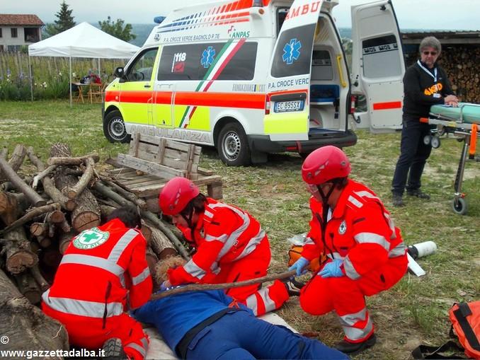 Sfida tra soccorritori: vince la Valsesia
