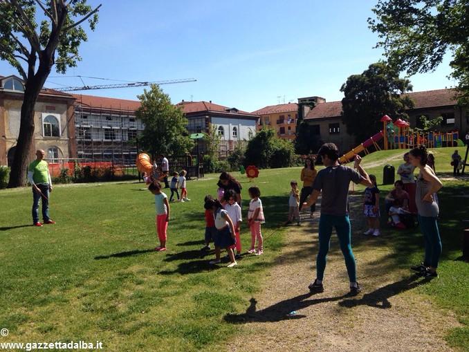 Coi Familupis ci si diverte a parco Sobrino 5