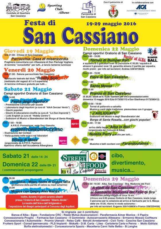 Festa San Cassiano 2016