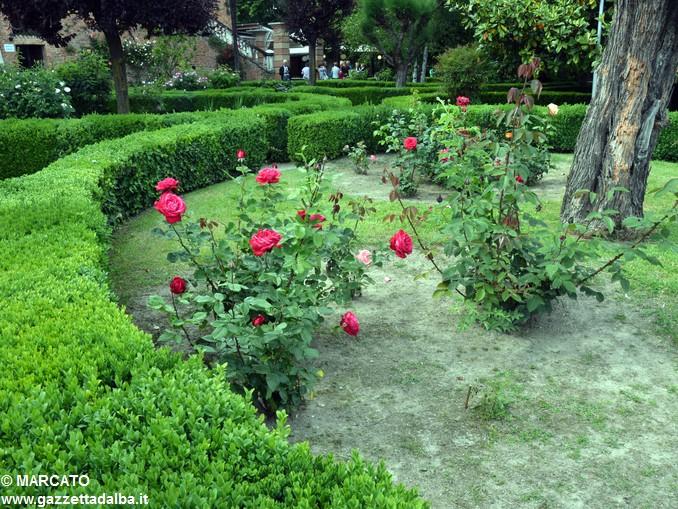 Il parco del castello di Govone si apre agli amanti delle rose 24