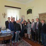 A Bra la delegazione albanese di Lezha