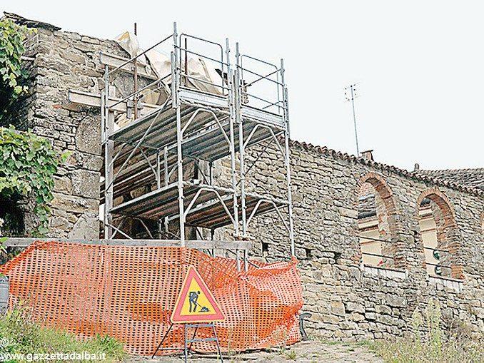 Partono i restauri alla porta medievale