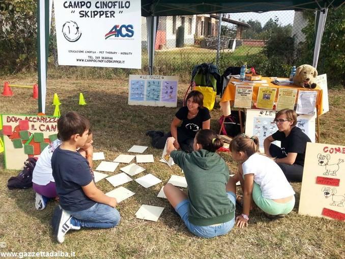 Domenica per le famiglie al campo cinofilo Skipper