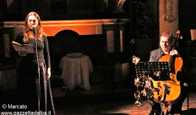 Roberta Castoldi nel corso di Poetica 2015