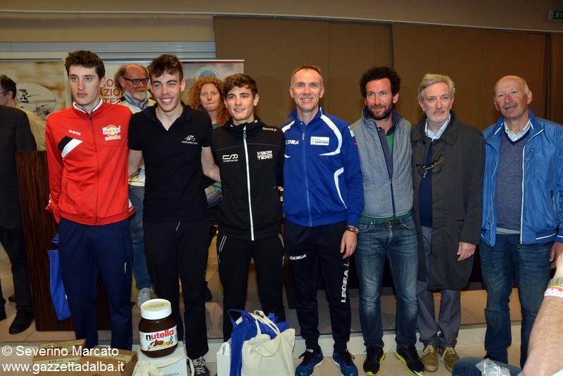 Bertaina vince il Gp etico Unesco di ciclismo