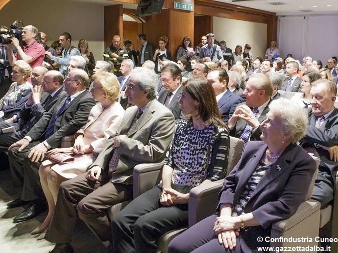 """Il salone di Confindustria Cuneo per Michele Ferrero: """"Un esempio ineguagliabile"""""""