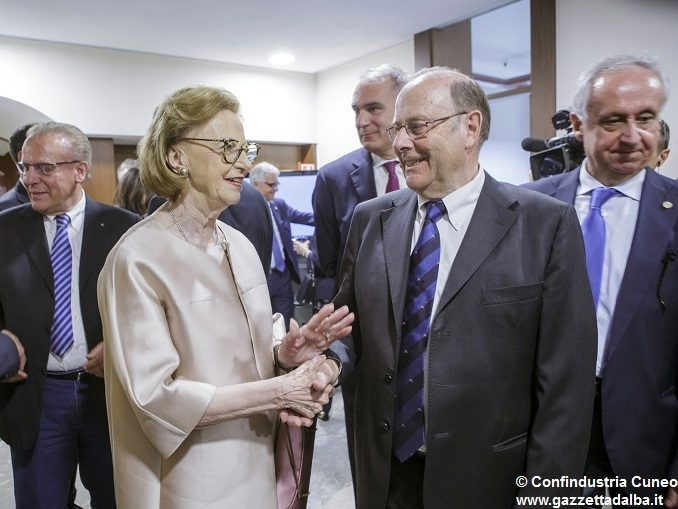 """Il salone di Confindustria Cuneo per Michele Ferrero: """"Un esempio ineguagliabile"""" 1"""