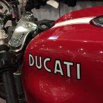Raduno ad Alba delle moto Ducati