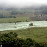 No alle reti antigrandine (bianche) tra le colline Unesco