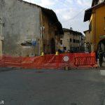Casa pericolante a Sommariva Bosco. Via Torino resta chiusa