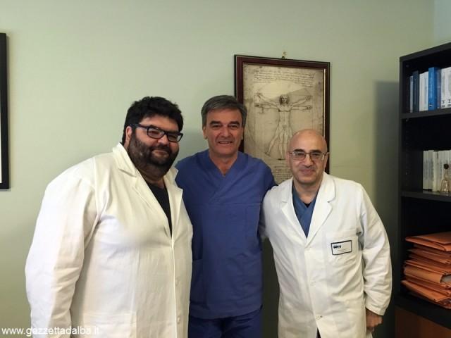urologi Da sinistra Camilli Fasolis Puccetti 1