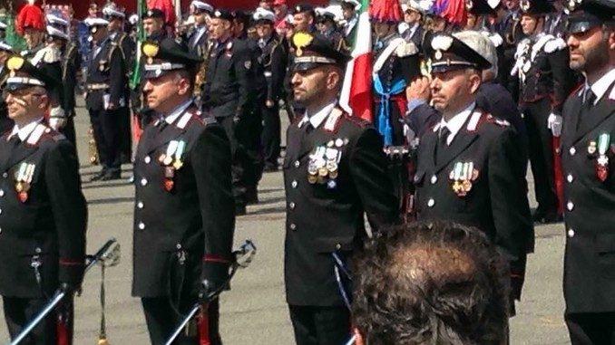 Carabinieri di Alba premiati a Torino