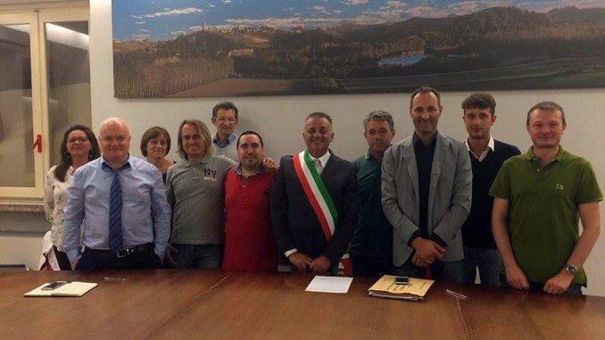 Il sindaco Mario Zoppi ha nominato la Giunta