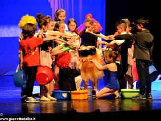 Un premio per lo spettacolo delle quarte elementari di Mussotto 1