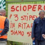 Cantiere di Verduno senza pace, i lavoratori dell'Alba-Bra senza stipendio da mesi minacciano lo stop