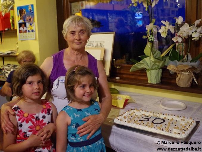 Gemma con le nipotine