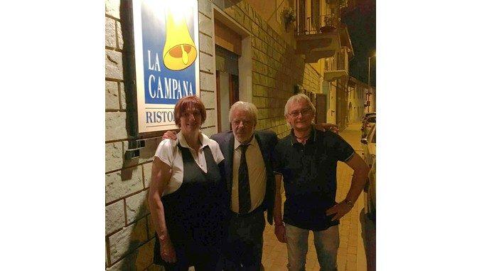 Giancarlo Giannini apprezza le tinche
